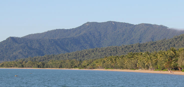 Cape Tribulation Tropical coastline Queensland Australia