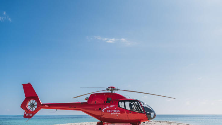 Port Douglas Helicopter Flight to Sand Cay | Perfect For Wedding Proposals