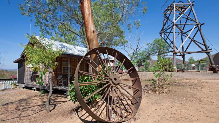 Old gold mining town - Tyrconnell in the Aussie Outback