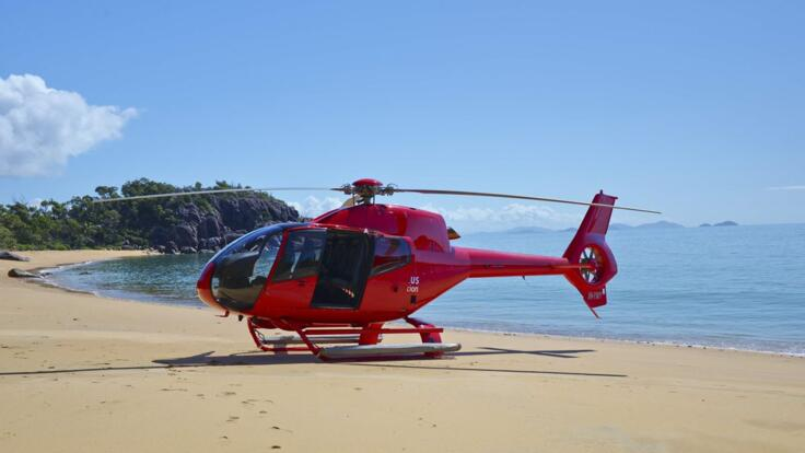 Helicopter Flights Port Douglas - Alternative Beach Landing