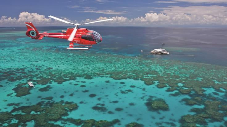 Great Barrier Reef Flight & Cruise Combo