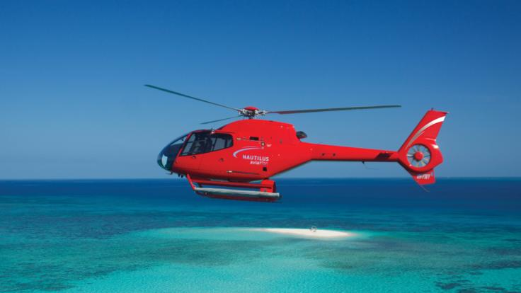 Our fleet of luxury helicopters fly from Cairns and Port Douglas