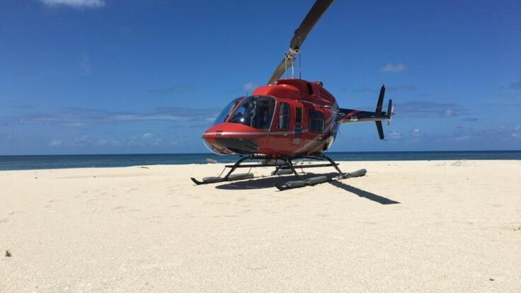 Port Douglas Helicopter Flights - Exclusive Private Charter Helicopter Flights to Sand Cay