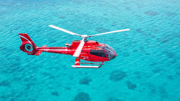 Cairns Helicopter Scenic Flight - Enjoy the stunning reef views