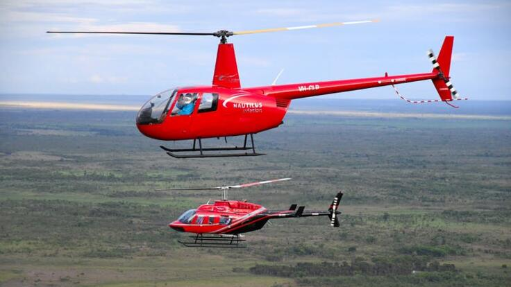 Townsville Helicopter Scenic Flights - Heli Fishing Tours