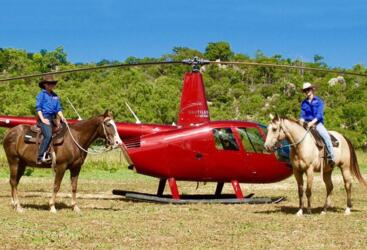 townsville Helicopter Flights & Horseriding Magnetic Island