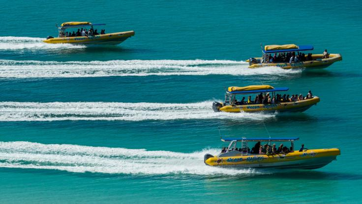 Whitsunday Rafting & Jet Ski Tour