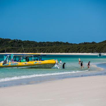 Ocean Rafting Whitsunday Tour