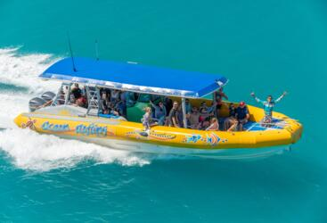 High Speed Boat Great Barrier Reef Tour