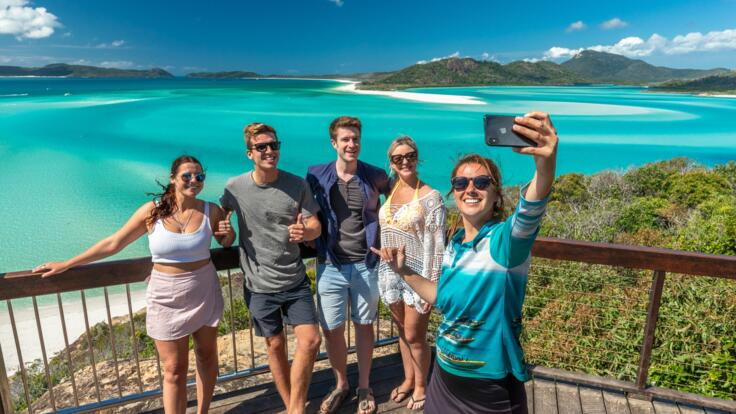 Panoramic Views from the Hill Inlet Lookout