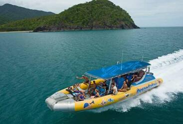 Snorkel Tour Cape Tribulation - Fast Rib Boat Ride
