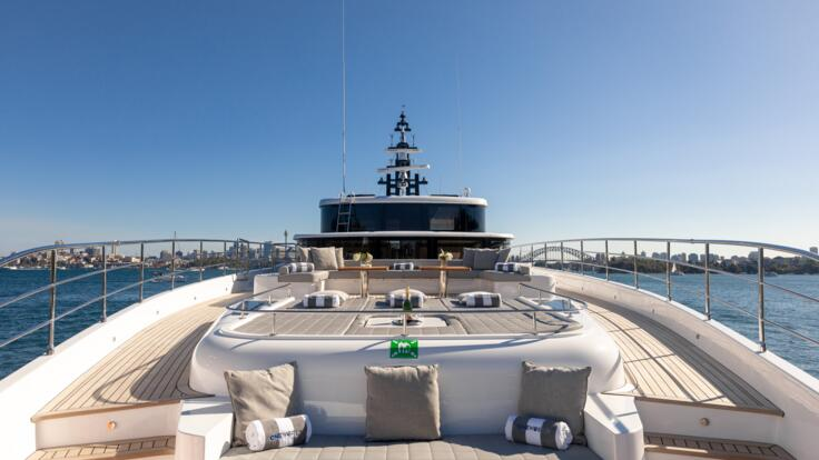 Superyachts Australia - Relax and bask in the sun