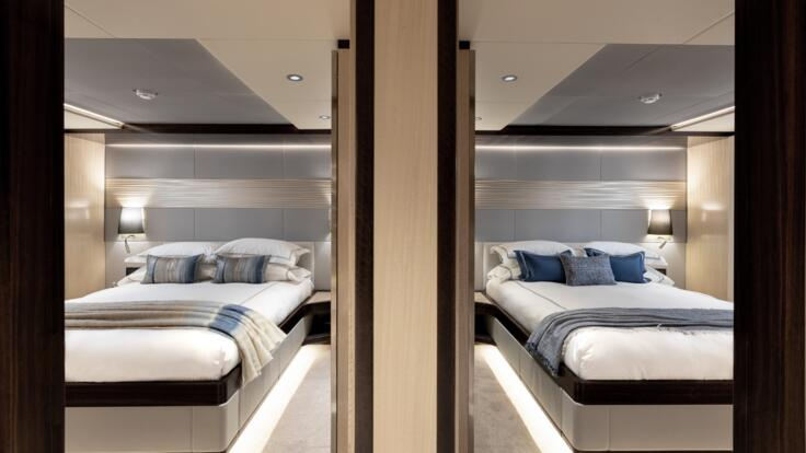 Yachts Charters Hamilton Island - View of Staterooms