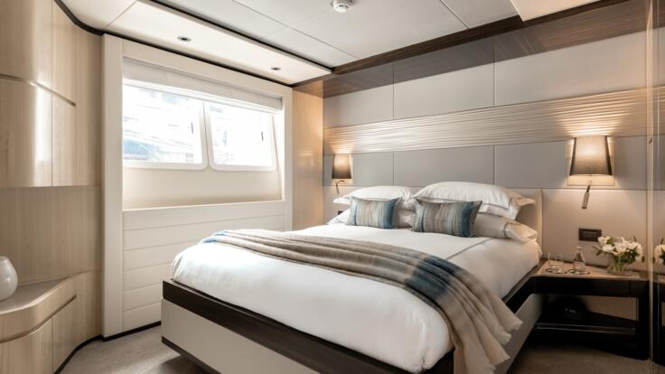 Whitsunday Yacht Charters - Stateroom Accommodation Double 1