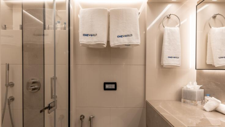 Whitsunday Yacht Charters - Stateroom Bathroom Double 1
