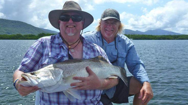 Popular Barramundi in Cairns inlet