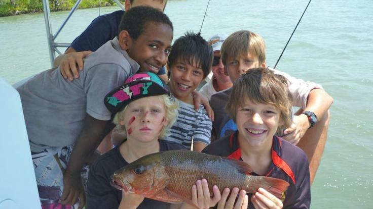 Bring the kids estuary fishing in Cairns