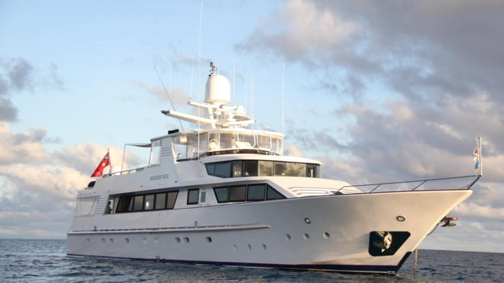 Overnight Or Day Charter Super Yacht on the Great Barrier Reef in Australia