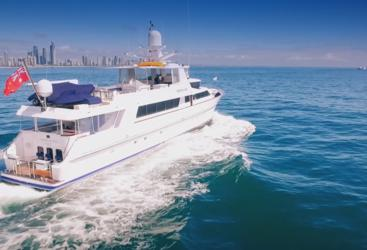 Luxury Private Charter Super Yacht, Queensland, Great Barrier Reef, Australia