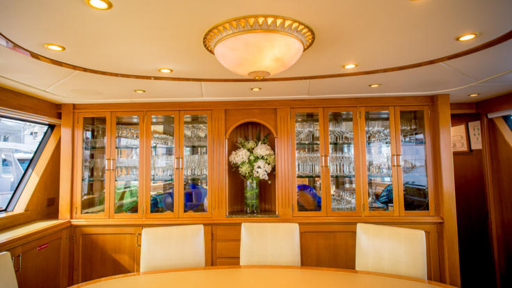Great Barrier Reef Super Yachts Up To 8 Guests - Dining Room