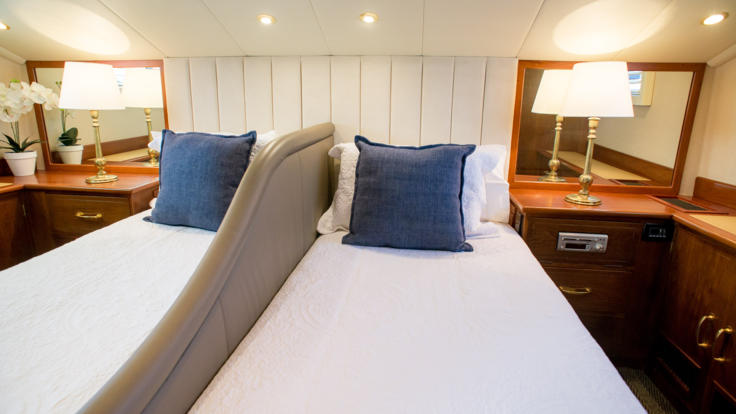 Private Charter Super Yacht - Queensland - Great Barrier Reef - VIP Stateroom