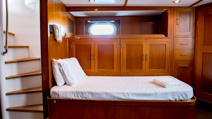 Luxury Motor Yacht - Aft Cabin - Great Barrier Reef - Australia