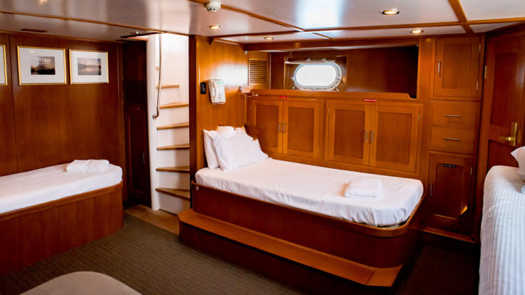 Private Charter Super Yacht - Aft Cabin - Great Barrier Reef - Australia