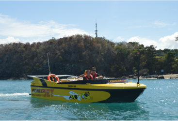 Small numbers and heaps of fun on this Airlie Beach fast boat experience.