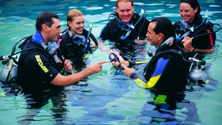 Learn to scuba dive with experienced instructors at our Cairns Dive School