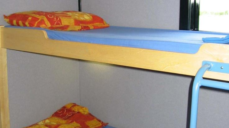 Twin Bunks on board