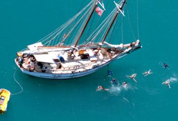 Airlie Beach Sailing Tour | Snorkel from the tallship