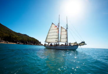 Sail the Whitsundays | Private charter sail boat | Up to 24 guests