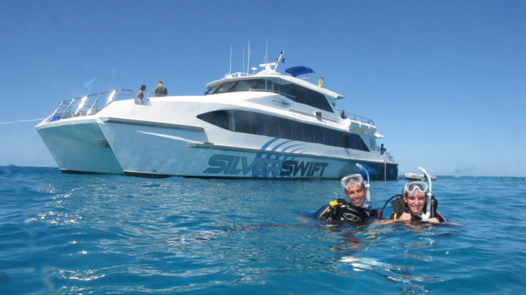 From Cairns snorkel 3 reef locations in one day - upgrade to dives