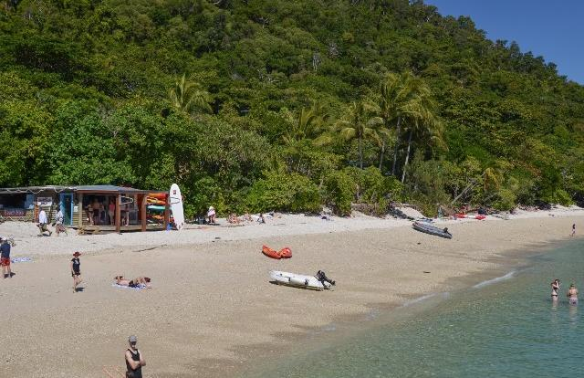 Sea kayaking tours at Fitzroy Island on the Great Barrier Reef
