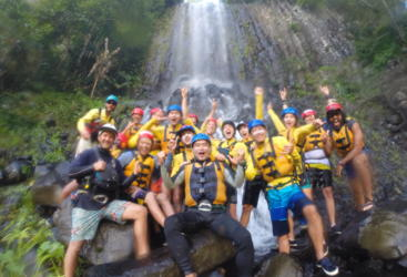 Group photos are a must on your Tully River adventure
