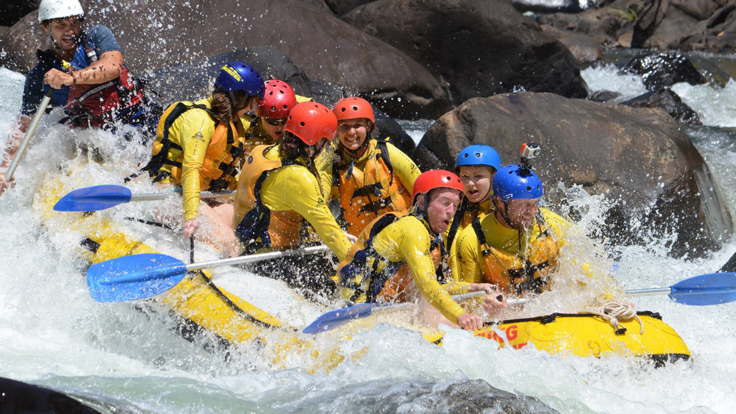 Tully River offers all year round rafting