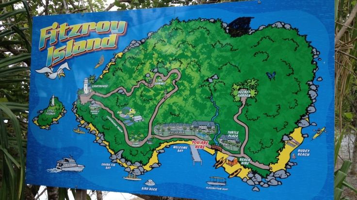 Resort Map Fitzroy Island