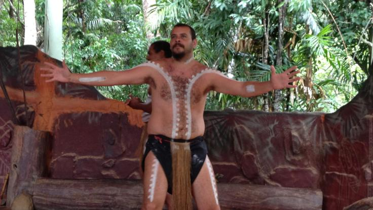 Aboriginal cultural experience at Rainforestation in Kuranda