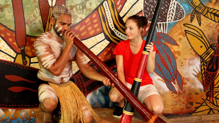 Enjoy the Pamagirri Aboriginal Experience in the rainforest