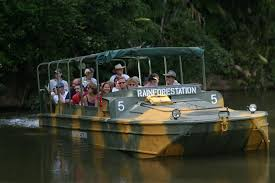 Kuranda Tours - Army duck tour through the Kuranda rainforest