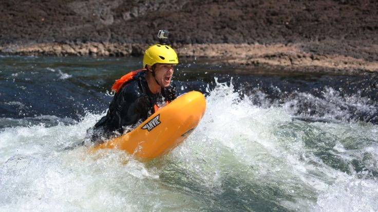 Tully River boarding is awesome fun look at me