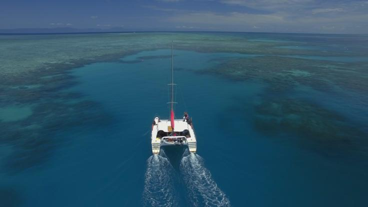 Barrier Reef Australia: Cruising on the Great Barrier Reef off Cairns