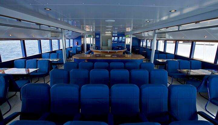Cairns Reef Tours - Comfortable Interior of Boat