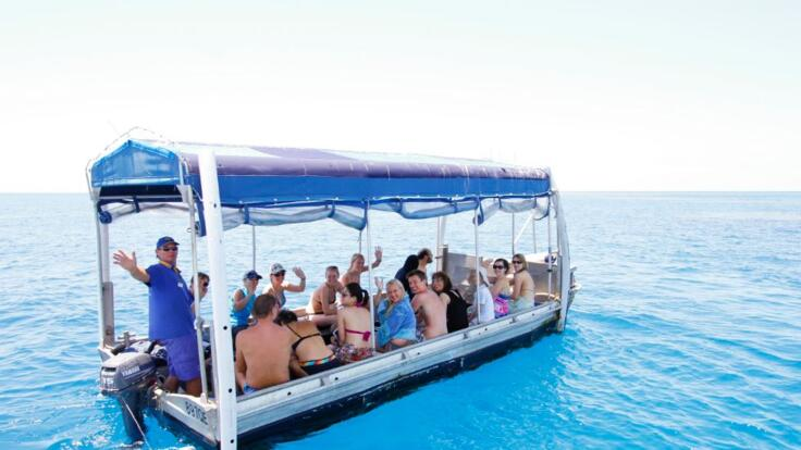 Glass Bottom Boat Tours - Great Barrier Reef