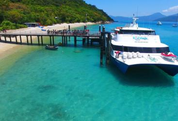 Visit Fitzroy Island on the Great Barrier Reef in Australia
