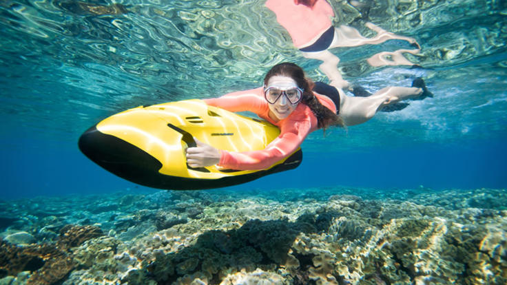 Book a fun SEABOB on the Cairns tour