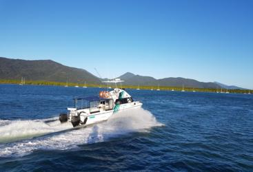 Cairns private charter boat | Full or Half Day Charter