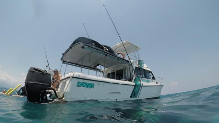 Fishing & Snorkelling Private Charter boat in Cairns
