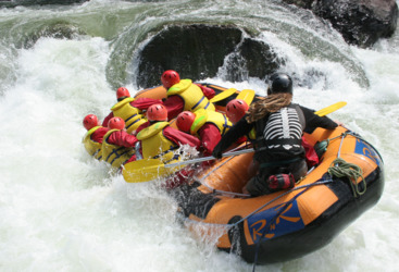 Extreme Rafting Tully River Mission Beach