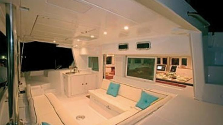 Relax in fine Luxury on this private sunset sail from Port Douglas
